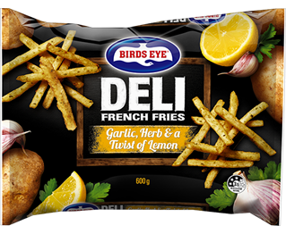 11597 Birds Eye Deli Garlic, Herb & a twist of Lemon French Fries
