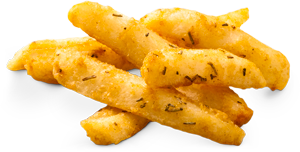 Fries with herbs